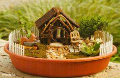 mini fairy house