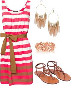 Cute look for Summer!