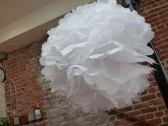 Easy to follow steps for make your own decorations.  Perfect for wedding or bridal shower.