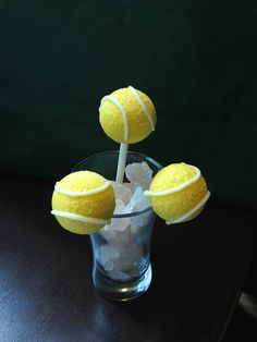 Your Serve: Make Tennis Cake Pops for the U.S.Open