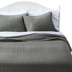 Threshold™ Vintage Washed Solid Quilt