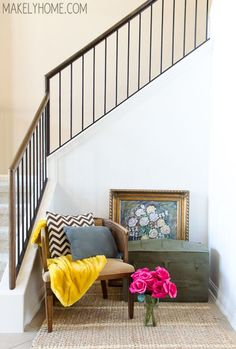 How to Paint a Wall in a Tight Space - Makely School for Girls