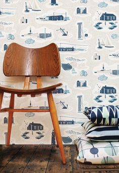 Mini Moderns 'Hinterland' collection. Images of Dungeness
