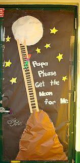 Papa Please Get the Moon For Me - door dec.