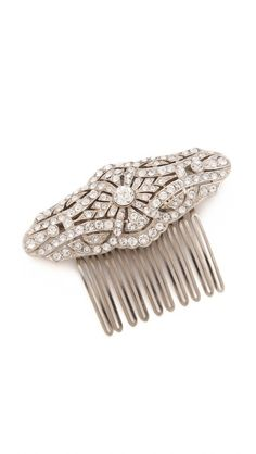 Ben-Amun Crystal Hair Comb