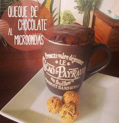 |RECETA| Queque de chocolate al microondas