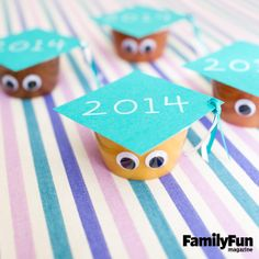 Grade A Graduation Snack: Here's a simple, allergy-free snack for a year-end classroom party.