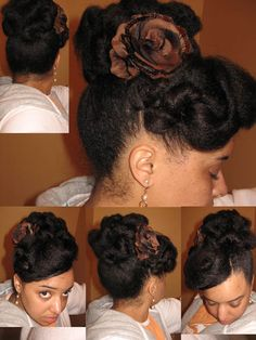 gorgeous up do for a special occasion