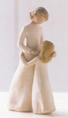 Mother and Daughter by Willow Tree