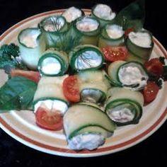 Amy's cucumber wraps