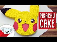 Pikachu Cake | Pokemon | How To - YouTube