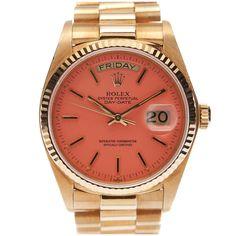 Vintage pink Rolex