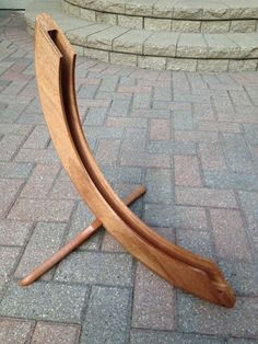 Wooden Bicycle Stand