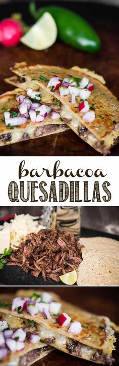 Barbacoa Quesadillas