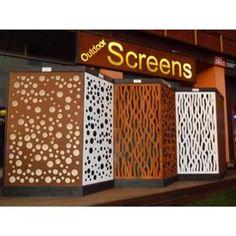 Decorative Outdoor Garden Screens