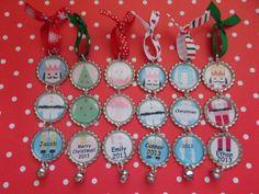 Christmas ornaments personalized glitter Nutcracker suite