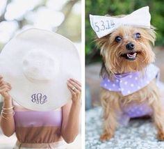 Monograms and Furry Friends!