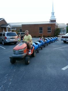 Colossal Coaster World VBS,  at Matlock Baptist. Our coaster ride!