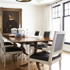 phyfe table + Dining