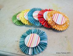 """paper """"rosette"""" tutorial - for end of year award show"""