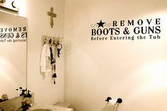 bathroom wall decor rustic cowboy themed saloon bathroom wall decor