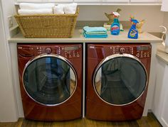 Laundry In the 2008 HGTV Green Home
