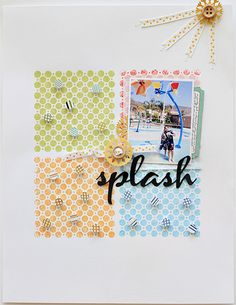 by waleska using the august mercantile kit - oh lovely colorful exclusive stamp!
