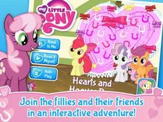 Discount: My Little Pony: Hearts and Hooves Day is now 0.99$ (was 2.99$). http://www.appysmarts.com/application/my-little-pony-hearts-and-hooves-day,id_86111.php #iPhone #iPad
