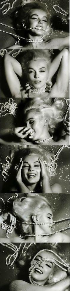 #marilynmonroe #vintage #pearls #inspiration