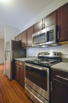 Platinum A- Kitchen - Branchwater Apartments
