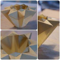 Waldorf octagonal star lantern tutorial