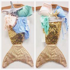 Mermaid stocking!