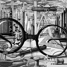 Le Corbusier's View  John Dennison: Tableaux Printemps
