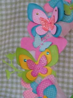 Kids spring crafts | Bits of Me: Spring Butterfly Wreath