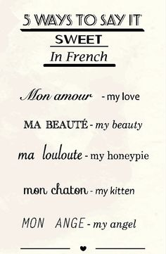 Sweet Funny Love Quotes English : Cute French Quotes And Translations. QuotesGram