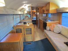 Interior Vintage Bus
