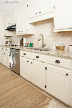 Counters and back splash