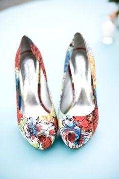 Fun shoes for a wedding!