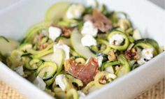 Garlicky Zucchini Noodles (Without The Pasta!)