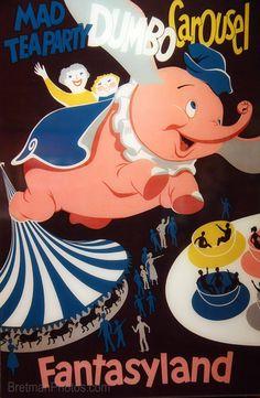 Vintage Disney Posters for vintage themed nursery