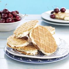 Honey-Vanilla Ice Cream Sandwiches