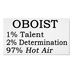 Oboist Hot Air Poster from http://www.zazzle.com/oboe+player+gifts