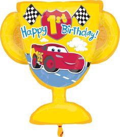 Feliz 1er cumpleaños, Cars de Disney.