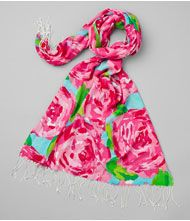 Lilly Pulitzer scarf!