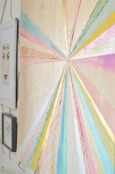DIY Color Wheel Art