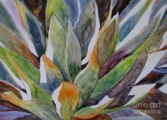 Yupo - Agave Painting  - Yupo - Agave Fine Art Print