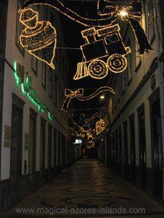 Christmas in Ponta Delgada Azores