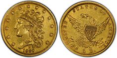 HALF EAGLE 1834-1838 Classic Head #Coin.