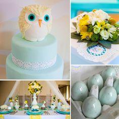 Owl-Themed Baby Shower