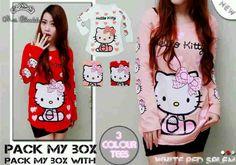 Jual Kaos Hello Kitty HK91  Keren - http://www.butikjingga.com/kaos-hello-kitty-hk91